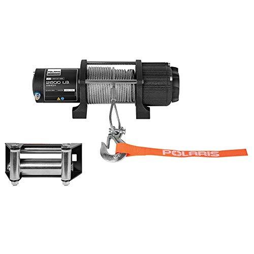 Polaris Genuine Accessories 15-18 Polaris SPORTS850 HD 2500-LB Integrated Winch Kit (Steel Cable)