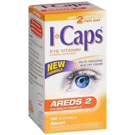 ICaps AREDS2 Eye Vitamin, Softgels - 3PC by ICaps