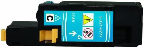 Compatible CMYK Toner 1250//1350HY Replacment for Dell 1250c 1335cn 1350cn NonOEM