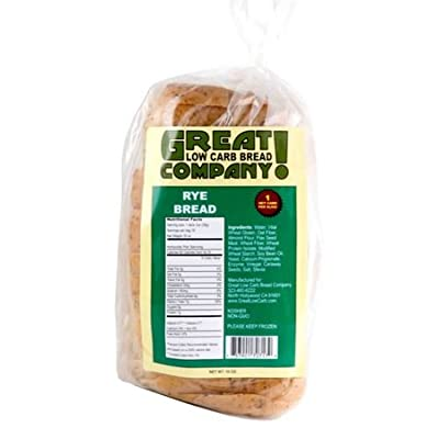 Great Low Carb Bread Co. - Rye - 3 Loaves