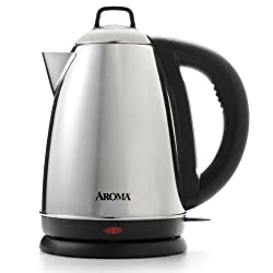 Aroma AWK-115S Hot H20 X-Press Cordless Water Kettle from Aroma