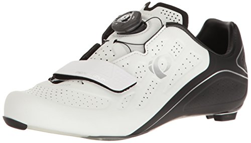Pearl Izumi Women's W Elite Road V5 Cycling Shoe, White/Black, 38.5 EU/7.2 B US