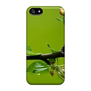 Iphone Case - Tpu Case Protective For Iphone 5/5s- Ready To Bloom Flowers