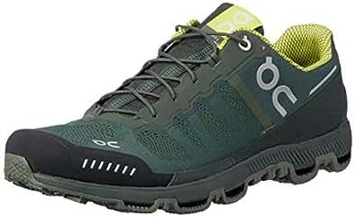 ON Men's Cloudventure Running Shoes, Forest/Sulphur, 8 AU/US