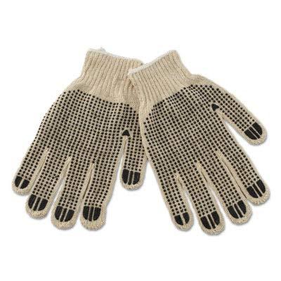 - Boardwalk 792 PVC-Dotted String Knit Gloves, Large (Case of 12)