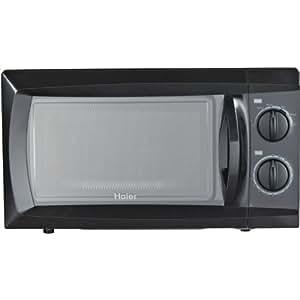 Haier Hmc610Bebb 0.6 Cubic Feet 600-Watt Microwave, Black