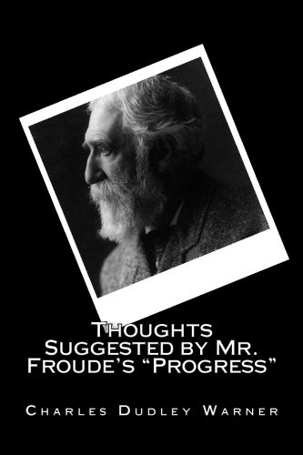 Download Thoughts Suggested by Mr. Froude's Progress PDF