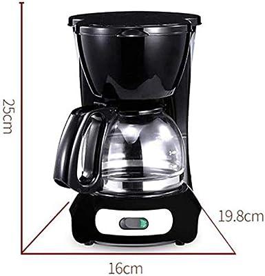 HANTY Cafetera, 600 ml 4-6 Tazas Máquinas eléctricas automáticas ...