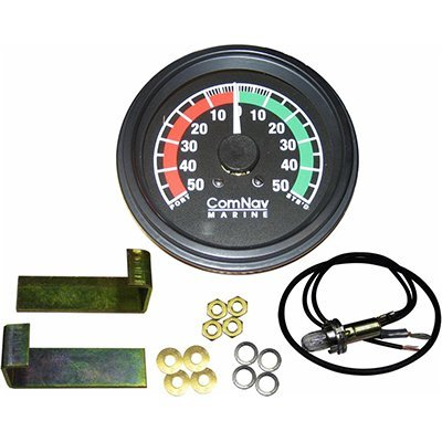 Comnav Rudder - ComNav 20360023 Rudder Angle Indicator, Display Only