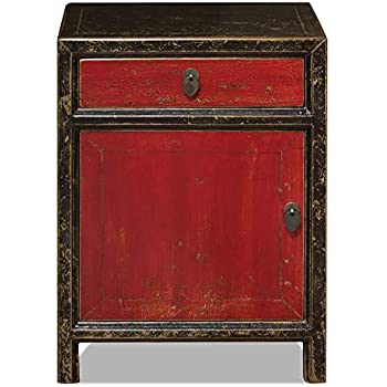 Amazon.com: China Furniture Online Elmwood Ming Nightstand ...