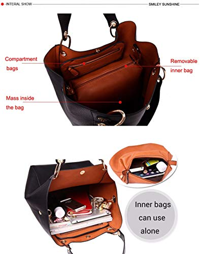 Capacity Luxury Bags Purses Large Ladies Female Shoulder Big Tote Hand Top Bags Bags Handle Women Handbags And bronze Leather qgwXpgxnHB