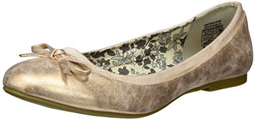 Jane Klain221 794 - Bailarinas Mujer Gold (GOLDROSE)