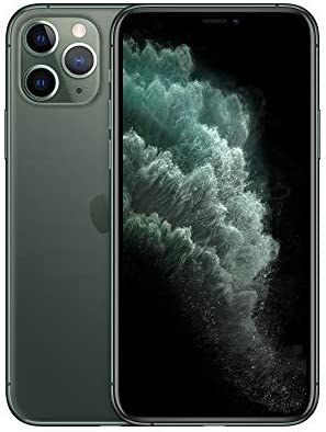 Apple Simple Mobile Prepaid - Apple iPhone 11 Pro Max (64GB) - Midnight Green [Locked to Carrier – Simple Mobile]