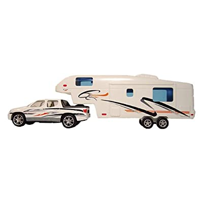 Prime Products 107.1109 27-0020 Pick-Up and 5th Wheel Toy: Automotive
