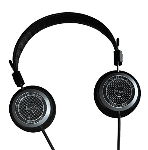 GRADO SR325e Stereo Headphones, Wired, Dynamic Drivers, Open Back Design
