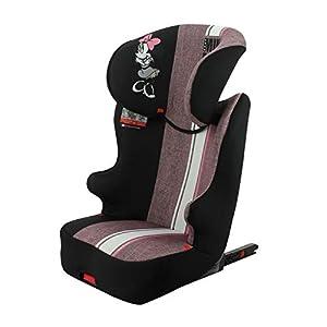 Siège auto rehausseur enfant STARTER EASYFIX groupe 2/3 (15-36kg) avec protection latérale – têtière réglable – 4…