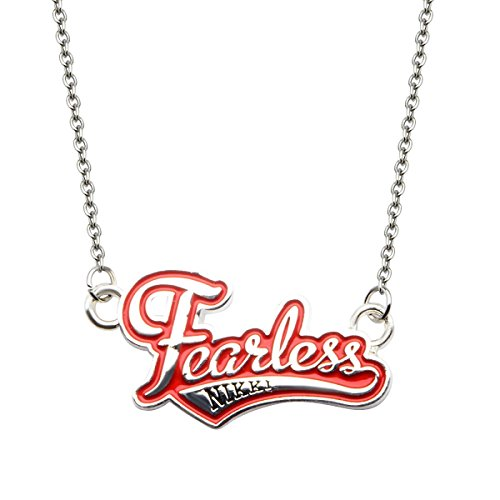 INOX WWE Fearless Nikki Pendant Stainless Steel Necklace by INOX