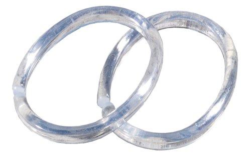 Sealskin Shower Curtain anelli 12 pezzi in sacchetto trasparente 2520
