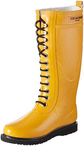 Ilse Jacobsen Womens Rub1 Rubber Boots Gelb (Gelbgold)