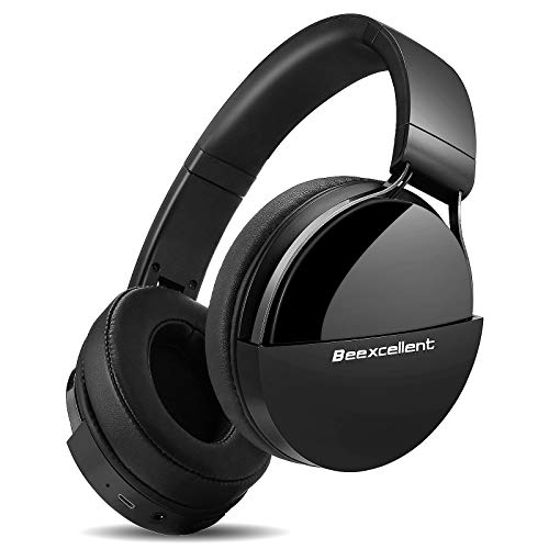 Bluetooth Headphones, 40Hrs Wireless Over-Ear Headphones Deep Bass Audio with CVC 6.0 Mic for Kids Adults Travel Online…