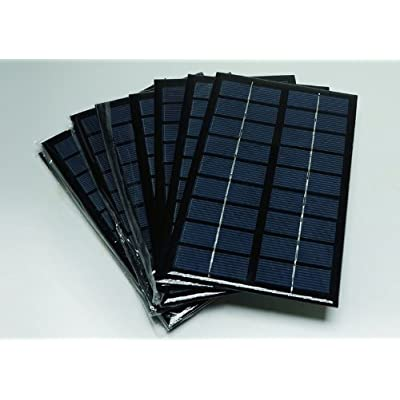 E-3LUE Chargeur mini panneau solaire à cellules époxy 3W 9V 333 mA