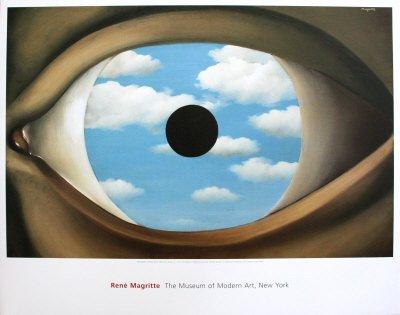 Il Falso Specchio.Il Falso Specchio Arte Stampa Poster Da Rene Magritte