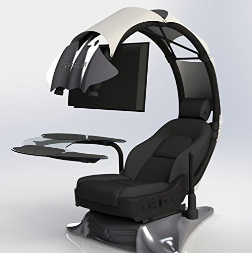 41Q0TL%2Bu VL - Pre-order(Order leadtime :4weeks after order) Drian Workstation Game Chairs IT & Furniture Converged Gaming chair For office and Home and Game(Pure White)For Double Monitor & Right door direction
