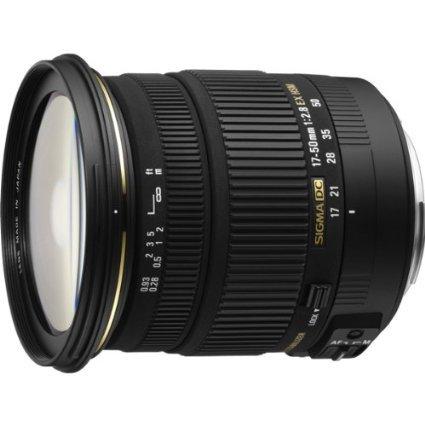 Sigma シグマ 17-50mm f/2.8 EX DC HSM FLD ラージ アパーチャ スタンドアド ズーム レンズ ソニー デジタル DSLR カメラ【並行輸入品】+NONOKUROオリジナルグッズ   B00LQQHVK4