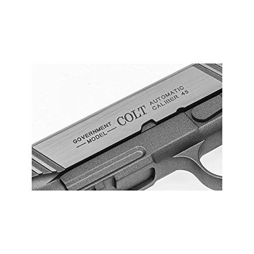 Cybergun Colt 1911 Rail Gun Stainless Co2 Réplique puissance 0.5 joules 5