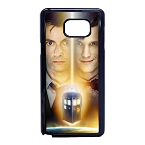Doctor Who Funda Samsung Galaxy Note 5 Funda Caja del teléfono celular Negro N8L9UF