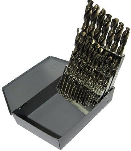 D//ASTCO Series Drill America 27//64 Cobalt Heavy Duty Split Point Stub Drill Bit Pack of 6