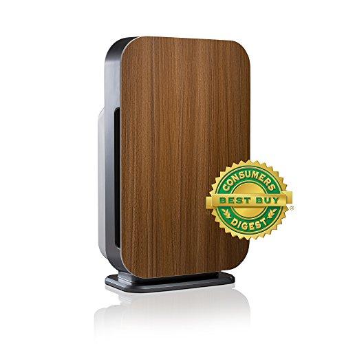 Alen FLEX Allergen-Reducing Air Purifier with Basic HEPA Filter, 700 SqFt; Oak
