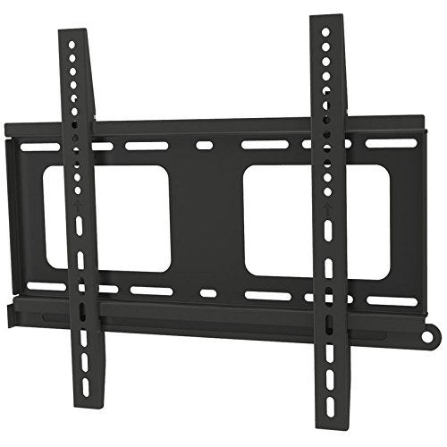 Promounts Apex Medium Flat TV Wall Mount Bracket for 30 to 60 inch with 12 Ft. HDMI & Bubble Level