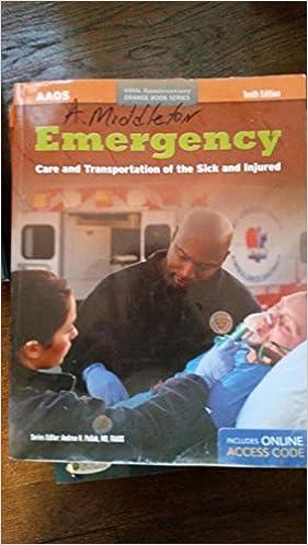 By American Academy Of Orthopaedic Surgeons AAOS Emergency