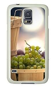 Samsung Galaxy S5 Fresh Grape PC Custom Samsung Galaxy S5 Case Cover White by icecream design