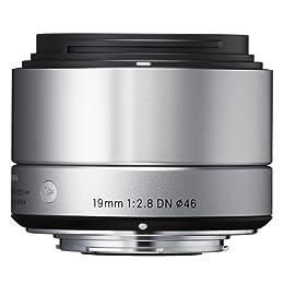 SIGMA 交換レンズ 19mm F2.8 DN Silver マイクロフォーサーズ用