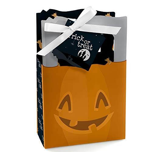 Trick or Treat - Halloween Party Favor Boxes - Set of -
