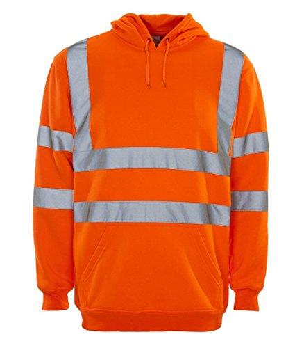 Unique Homme 21fashion shirt Jaune Taille Longues Orange Sweat Manches xqz0wzgnZO