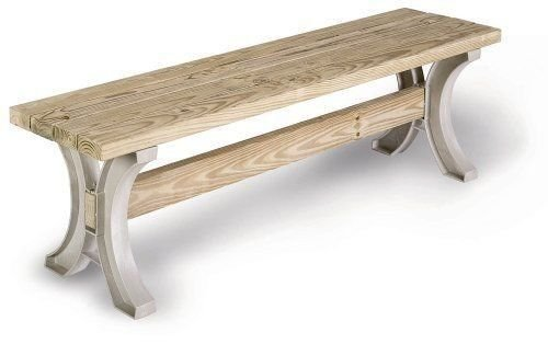 Timber Log 1 Drawer (2x4 Basics Outdoor Lawn Garden Patio Furniture AnySize Table or Low Bench Sand Made of durable Structural resin #-345-1)