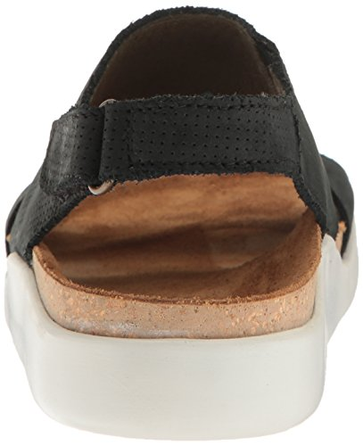 El Naturalista N5093 Koi - Sandalias de vestir de piel para mujer negro negro