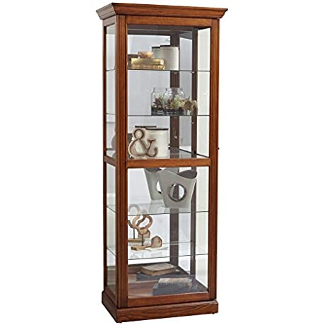 Pulaski Two Way Sliding Door Curio Cabinet 30 X 20 X 79