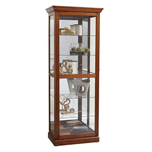 Pulaski Two Way Sliding Door Curio Cabinet, 30