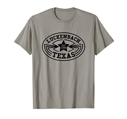 (Luckenbach Shirt Vintage Texas Country Music Gift  T-Shirt)