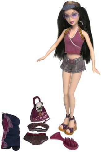 My Scene Barbie Doll NICE STRAIGHT HEELS Black Dressy Shoes