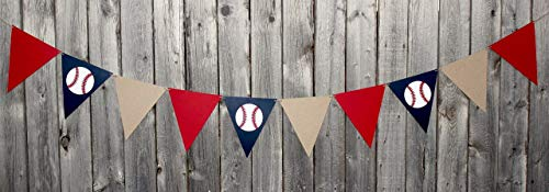 Baseball Flag Banner Decoration]()