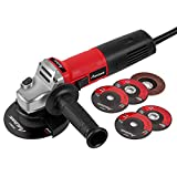 Best Angle Grinders - Angle Grinder 6.5-Amp 4-1/2inch with 2 Grinding Wheels Review