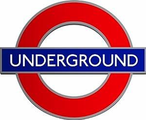 London Underground Sign 12 Standup Edible Premium Wafer