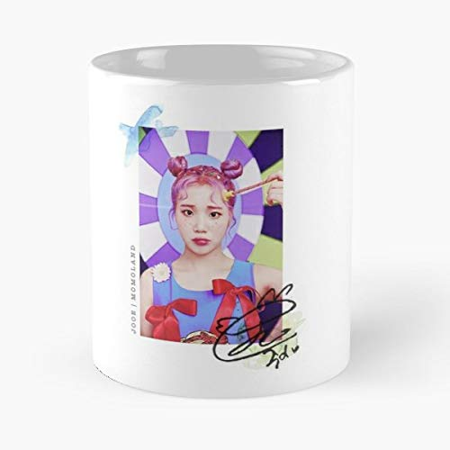(Momoland Kpop Pastel Signature - Best Gift Coffee Mugs 11 Oz Father Day)