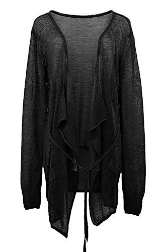 Casual Fit Stlie Grazioso Vintage Stampate Lunghe Comodo Cappotto Schwarz Slim Eleganti Jacket Outerwear Donna Fashion Primaverile Giubbino Con Maniche Autunno Cerniera xWBa1qHw