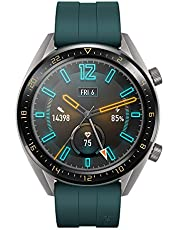 "HUAWEI Watch GT Active - GPS Smartwatch with 1.39"" AMOLED Touchscreen, 2-Week Battery Life, 24/7 Continuous Heart Rate Tracking, Multiple Outdoor and Indoor Activities, 5ATM Waterproof, Dark Green"